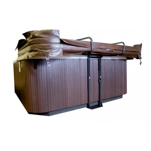 Hot tub covers direct from the manufacturer high quality - Hot tub cover lift with and without gas shocks ...